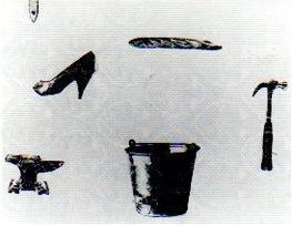 Josée Pellerin LES CHEMINS DES DIGRESSIONS © Josée Pellerin, Galerie B-312, exposition Les chemins de la digressions, 1999.