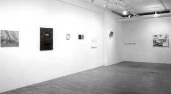 """Artistes variés PRÉLIMINAIRES © Artistes variés, exposition """"Préliminaires"""", Galerie B-312, 1995."""