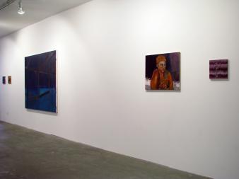 six peintres—deux écoles—trois lieux—une rencontre