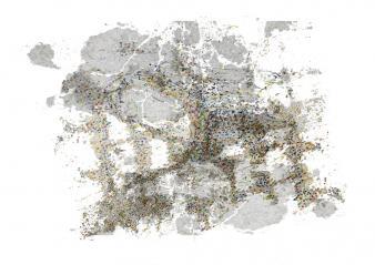 Géographie de crevasses II ; 1/4