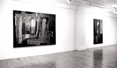"Denis Pellerin ICONES PAÏENNES © Denis Pellerin, exposition ""Icônes Païennes"", Galerie B-312, 1993."