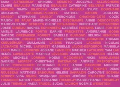 """Artistes variés POUR L'ART © François Lacasse, """"Petites pulsions XXI"""", 2008."""