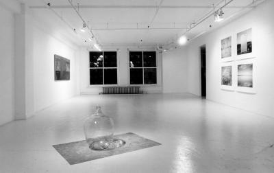"""Chantal Goulet RÉCIPROCITÉS © Exposition """"Réciprocités"""", Galerie B-312, 2002."""