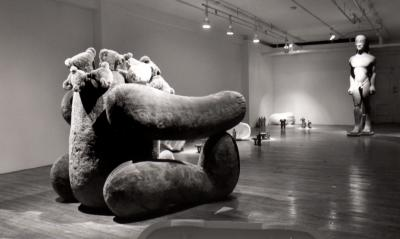 "Pierre Desrosiers TU NE FUIRAS POINT © Pierre Desrosiers, exposition ""tu ne fuiras pas"", Galerie B-312, 1993."